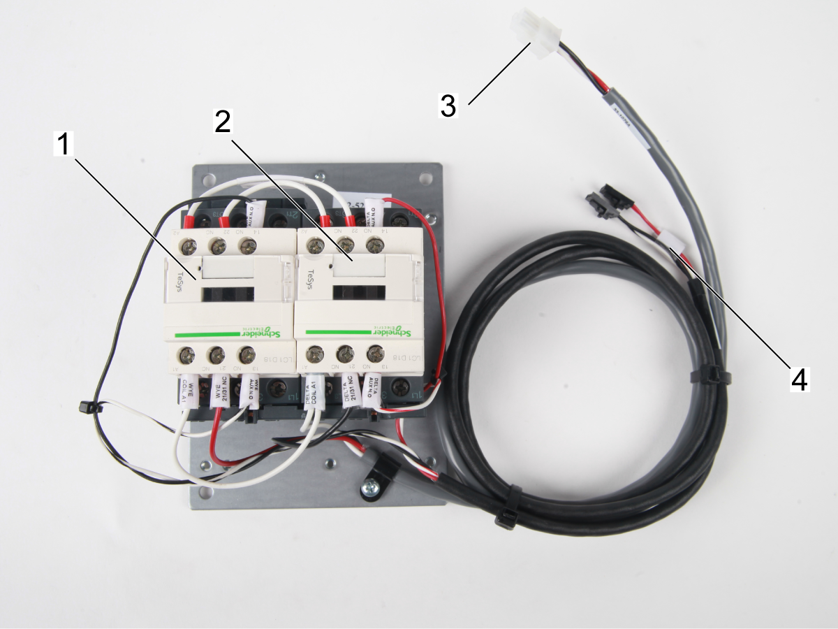 Wye-Delta Contactor Troubleshooting Guide - Test